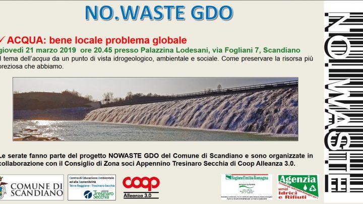 Acqua: bene locale problema globale