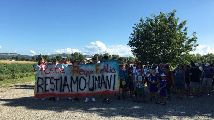 La Marcia della Pace ha fatto tappa a Scandiano